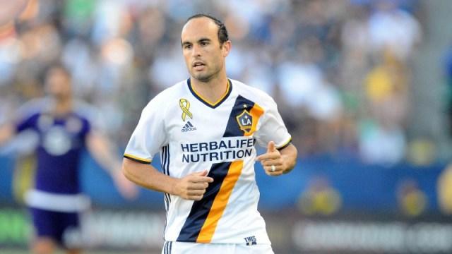 Former Los Angeles Galaxy midfielder Landon Donovan