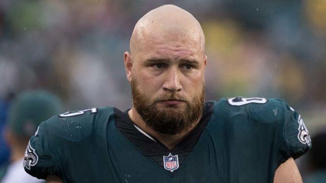 Philadelphia Eagles left tackle Lane Johnson