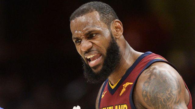 Cleveland Cavaliers forward LeBron James
