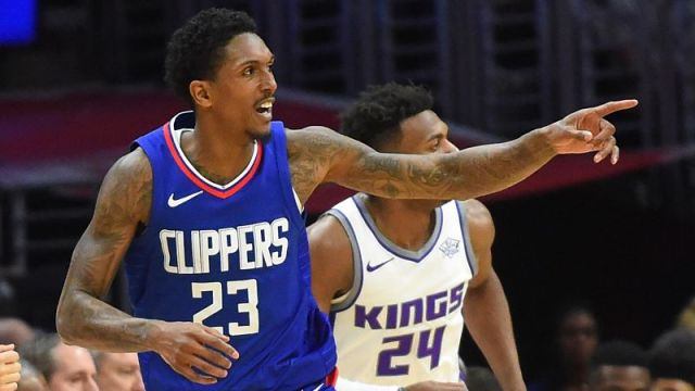 Los Angeles Clippers guard Lou Williams