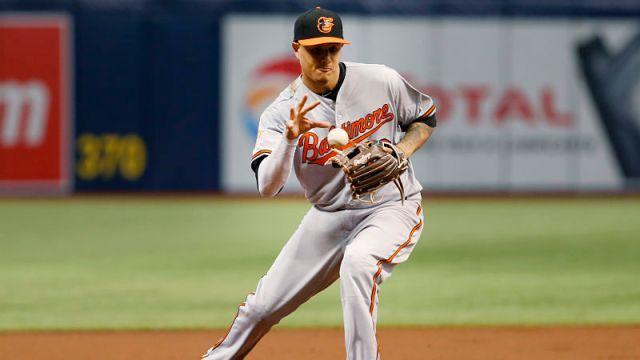 Baltimore Orioles third baseman Manny Macahdo