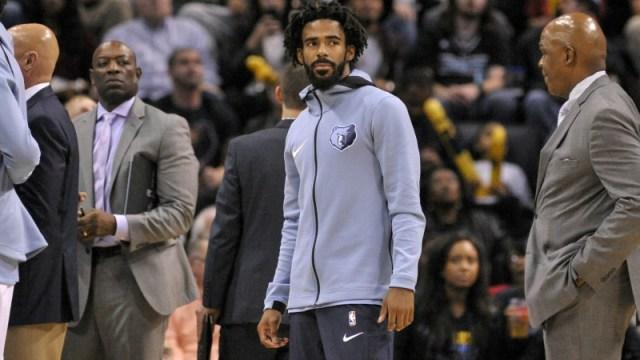 Memphis Grizzlies guard Mike Conley