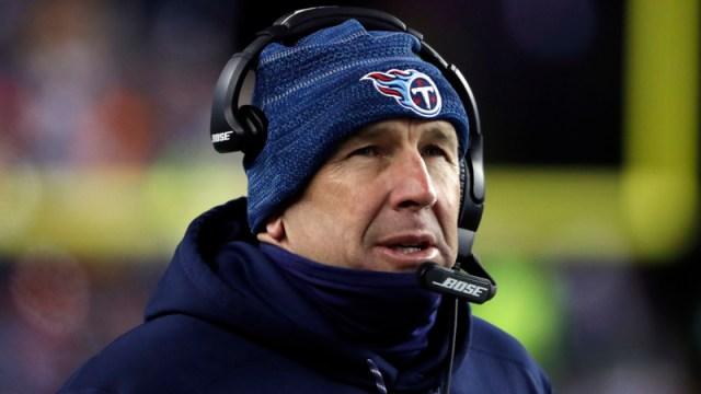 Titans head coach Mike Mularkey