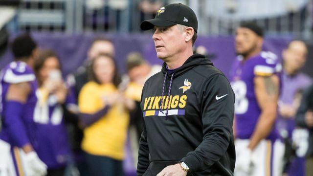 Minnesota Vikings offensive coordinator Pat Shurmur