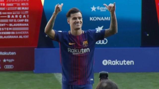 FC Barcelona's Philippe Coutinho