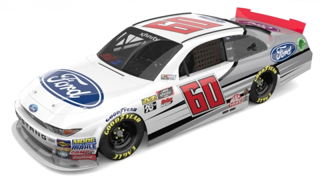 Roush Fenway Racing No 60 Ford