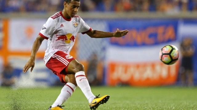 New York Red Bulls midfielder Tyler Adams