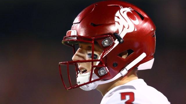 Washington State quarterback Tyler Hilinski