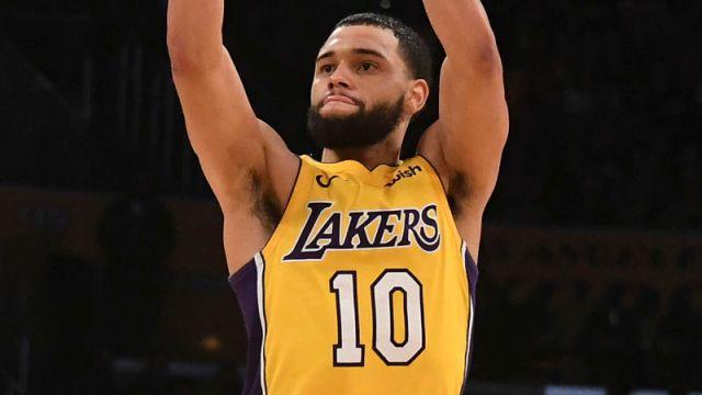 Los Angeles Lakers guard Tyler Ennis