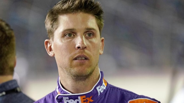 NASCAR driver Denny Hamlin