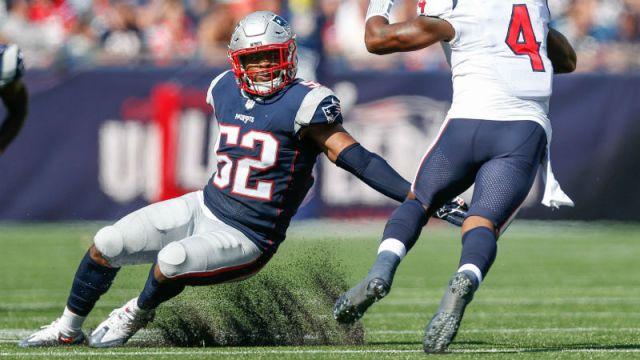New England Patriots outside linebacker Elandon Roberts