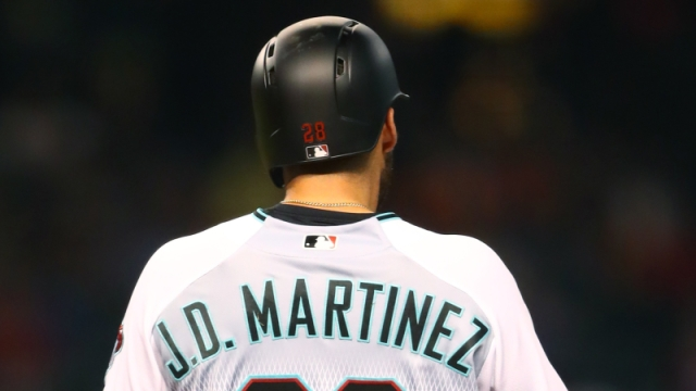Arizona Diamondbacks outfielder J.D. Martinez