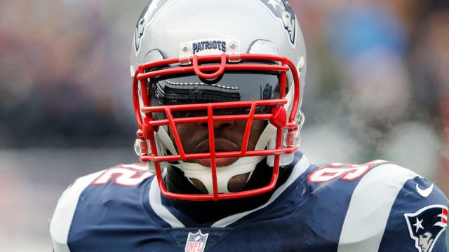 Patriots linebacker James Harrison