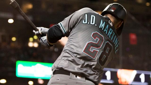 Diamondbacks outfielder J.D. Martinez