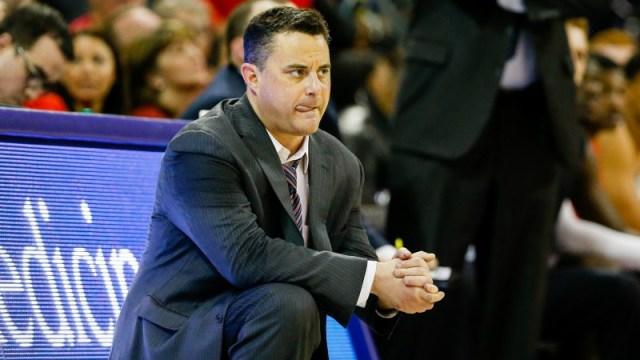 Arizona Wildcats head coach Sean Miller