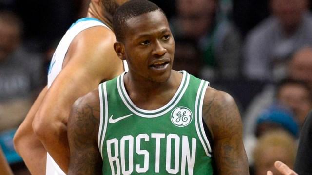 Celtics guard Terry Rozier