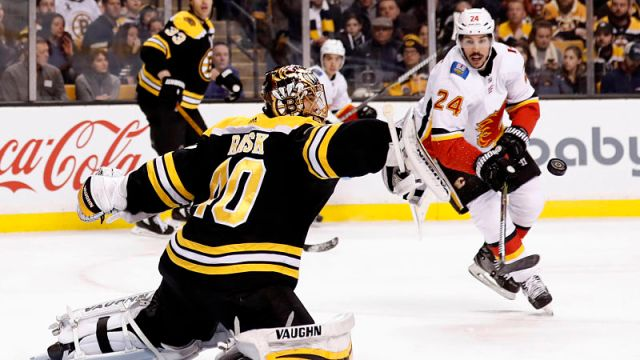 Boston Bruins goalie Tuukka Rask