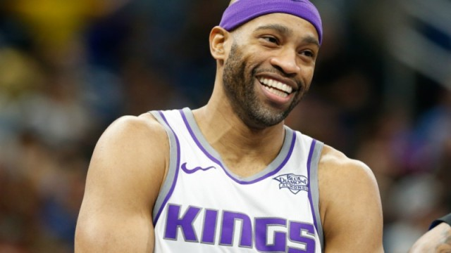 Sacramento Kings guard Vince Carter