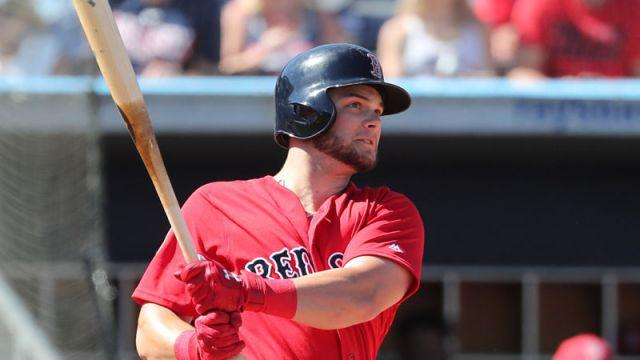 Boston Red Sox outfielder Andrew Benintendi