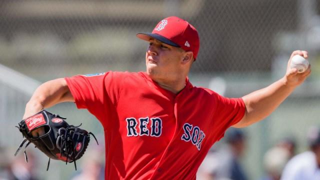 Boston Red Sox pitcher Bobby Poyner
