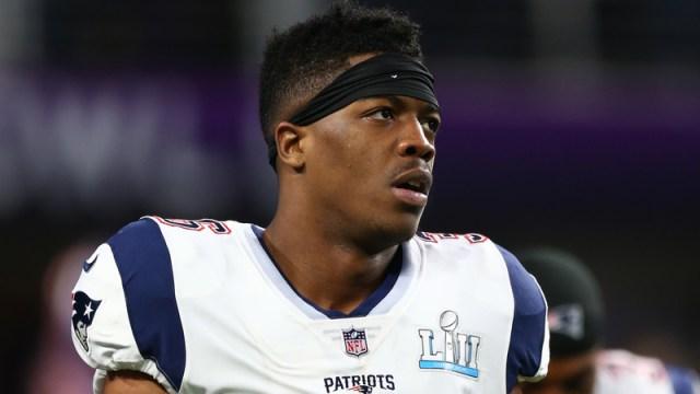 Patriots special teamer Brandon King