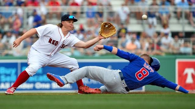 Red Sox third baseman Brock Holt