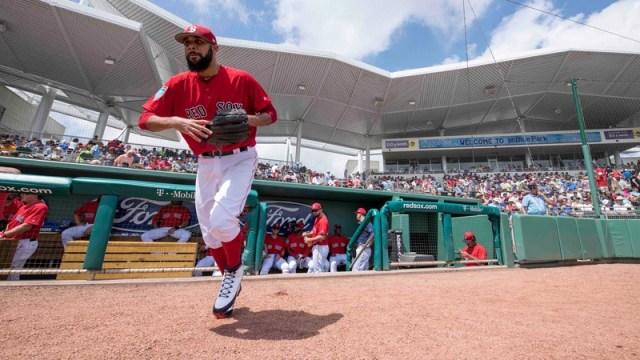 Red Sox pitcher David Price