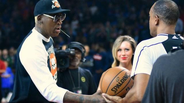NBA legend Dennis Rodman