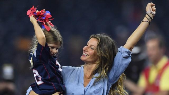 Patriots quarterback Tom Brady's wife, Gisele Bundchen