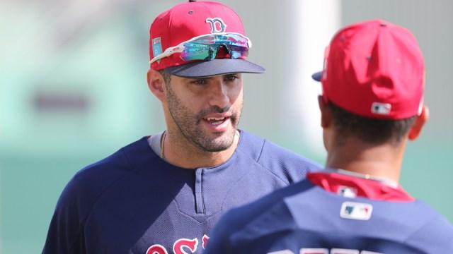 Red Sox outfielder J.D. Martinez