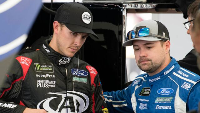 NASCAR drivers Ricky Stenhouse Jr. and Trevor Bayne