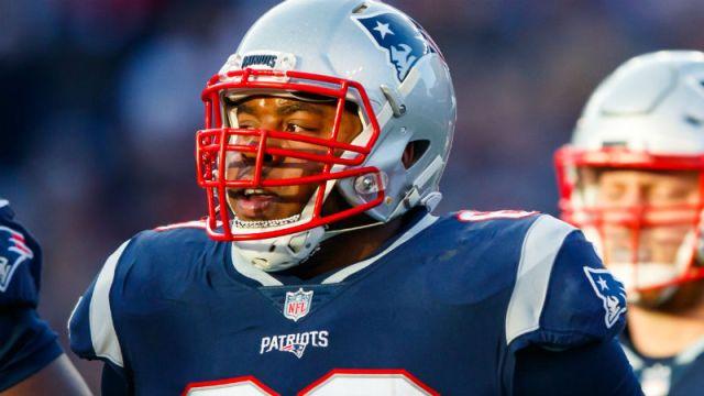 New England Patriots guard Shaq Mason