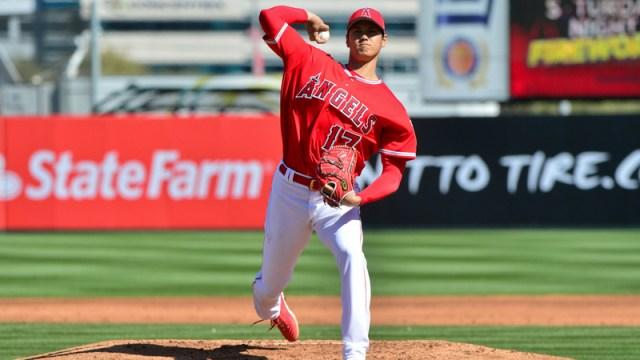 Los Angeles Angels Rookie Shohei Ohtani