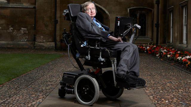 Theoretical physicist Stephen Hawking