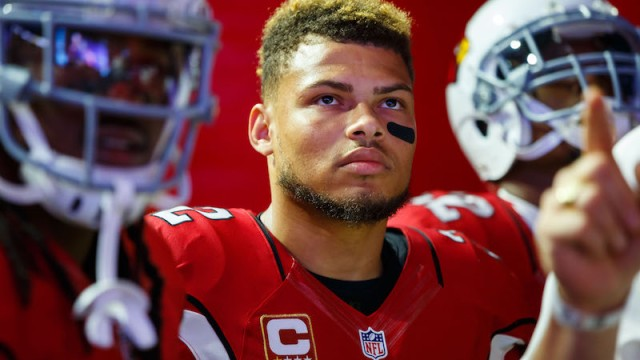 Free agent defensive back Tyrann Mathieu