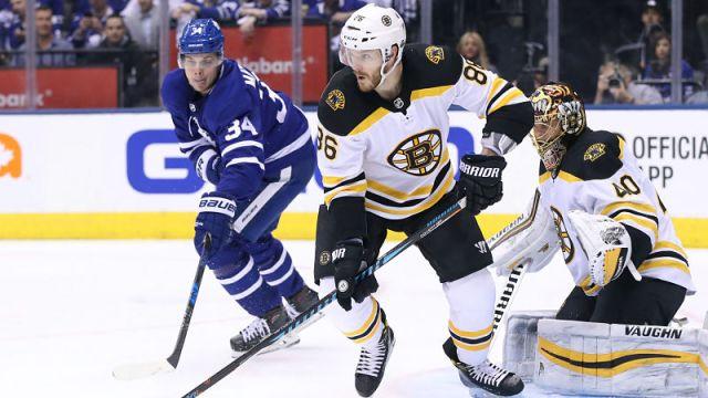 Boston Bruins and Toronto Maple Leafs