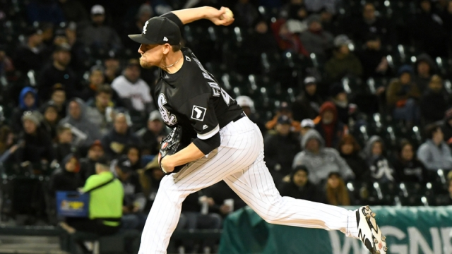 Chicago White Sox Relief Pitcher Danny Farquhar