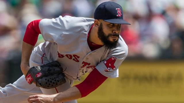 Boston Red Sox starting pitcher David Price