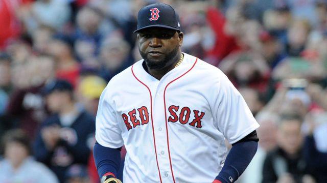 Former Boston Red Sox player David Ortiz