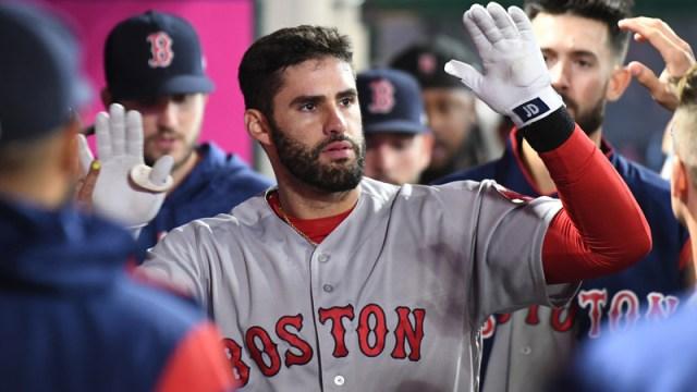 Boston Red Sox Right Fielder J.D. Martinez