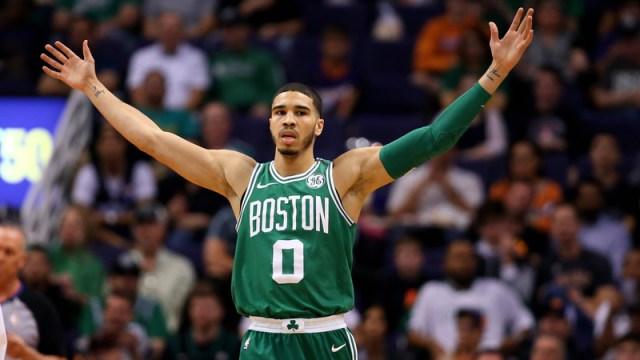 Boston Celtics Small Forward Jayson Tatum