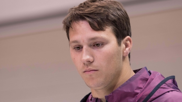 NFL Draft prospect Josh Allen