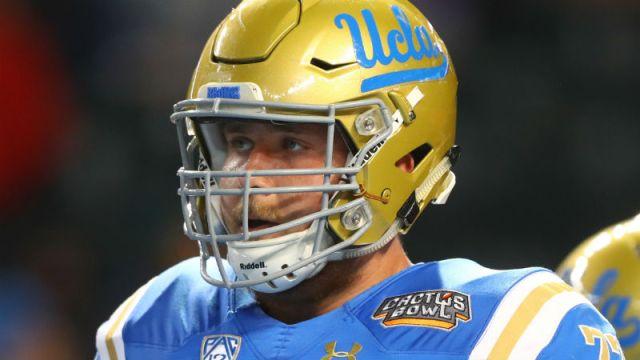 UCLA Bruins offensive lineman Kolton Miller