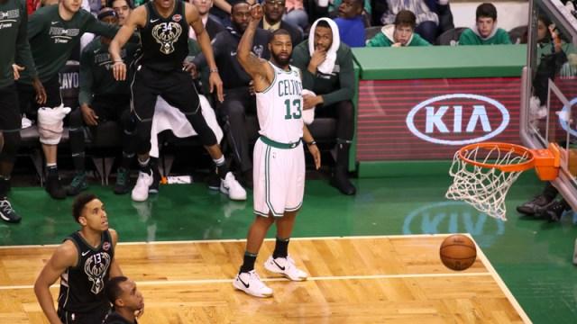 Boston Celtics Forward Marcus Morris