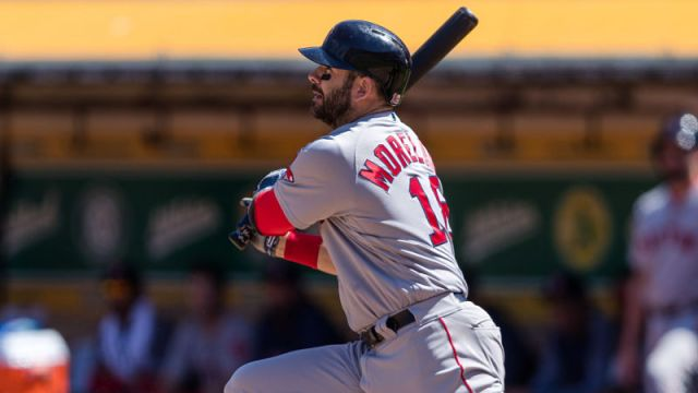Boston Red Sox first baseman Mitch Moreland