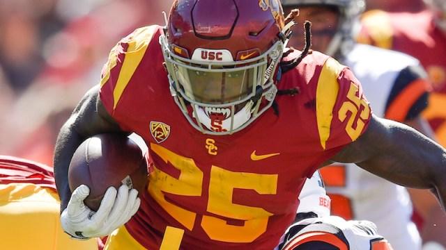 USC running back Ronald Jones
