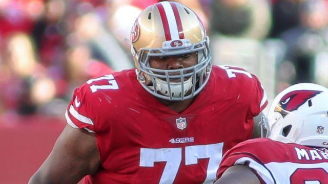 San Francisco 49ers tackle Trent Brown