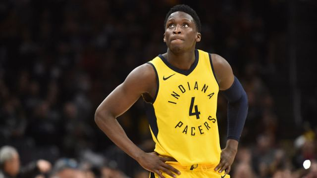 Indiana Pacers guard Victor Oladipo
