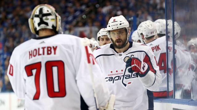 Washington Capitals winger Alex Ovechkin
