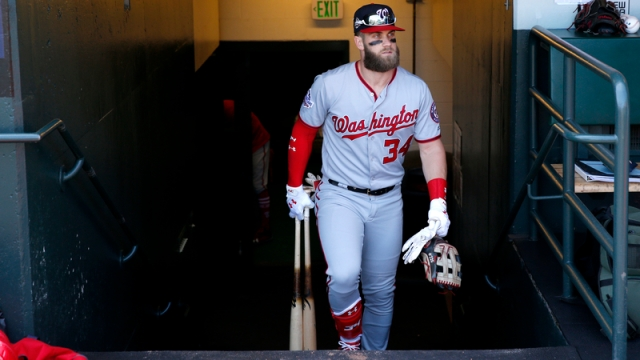 Washington Nationals Right Fielder Bryce Harper